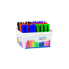 SCHOOLPACK 60 FEUTRES ASSORTIS GIOTTO ROBERCOLOR POINTE OGIVE MEDIUM 4MM POUR TABLEAU BLANC