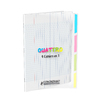 CAHIER 4 EN 1 17X22 90G 140P SEYES POLYPRO INCOLORE