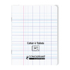 CAHIER A RABAT 170X220 48P 90G SEYES INCOLORE PP