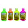 LOT 4 FLACONS 250 ML GOUACHE FLUO OMYA