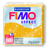 PATE A CUIRE FIMO PAILLETEE PAIN 57G OR