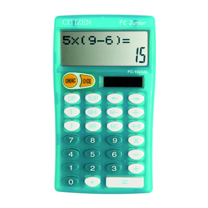 CALCULATRICE SCIENTIFIQUE DE TABLE , CITIZEN FC100N JUNIOR