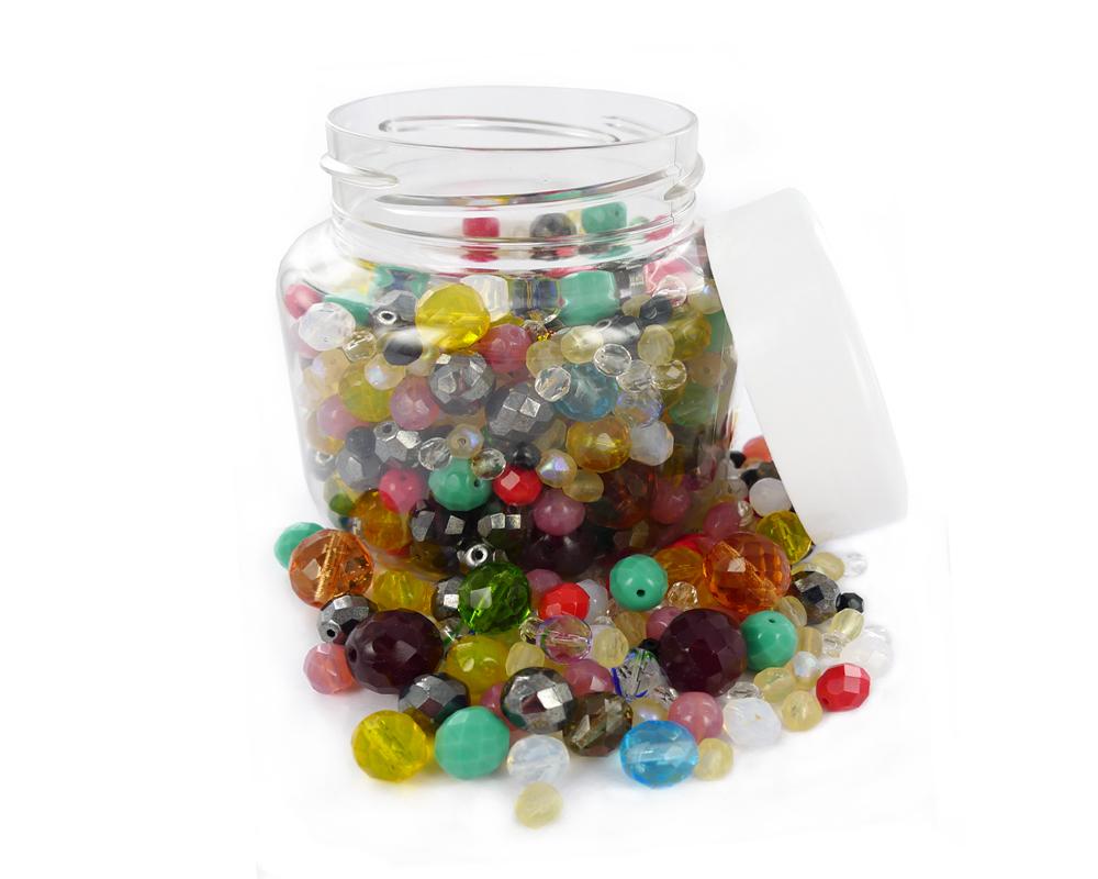 50 x métallique couleur Or à facettes verre Bobine biconique perles-taille 4 mm.